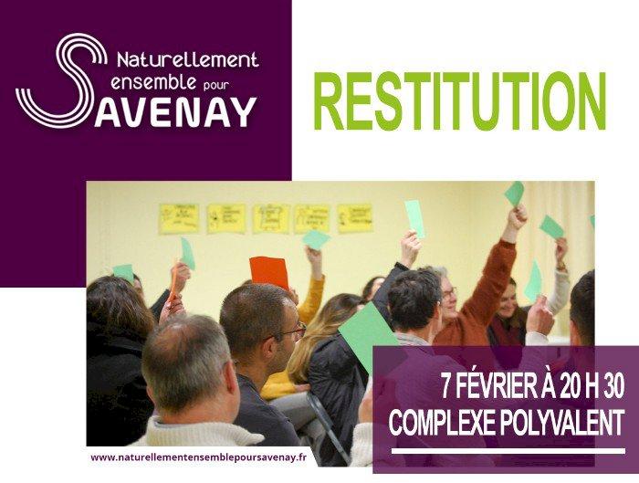 Soirée de restitution du collectif Naturellement Ensemble pour Savenay