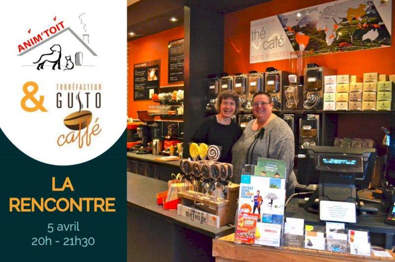 Soirée chez Gusto Caffé pour soutenir l'association Anim'Toit