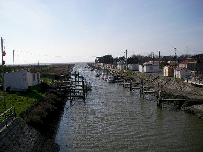 Promenade historique du Collet Le port du collet