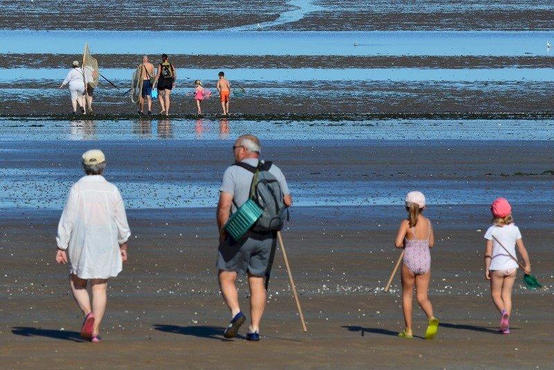 En route pour la pêche à pied