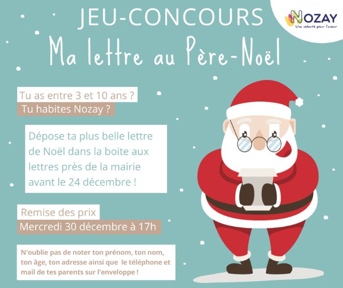Jeu concours pour Noël par La Mairie de Nozay