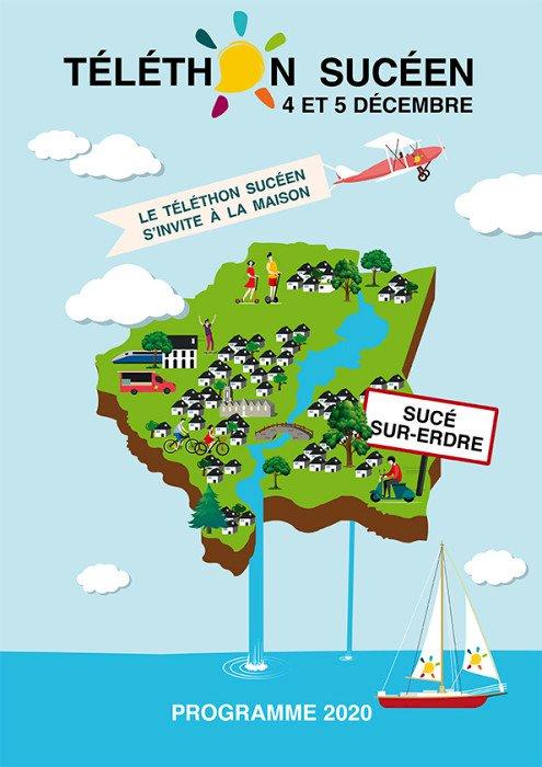 Téléthon sucéen 2020 - le Téléthon s'invite chez vous