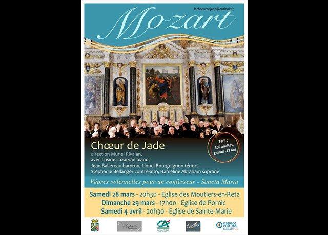 Agenda Les Moutiers-en-Retz : Chœur de Jade (Concert) - Ouest-France
