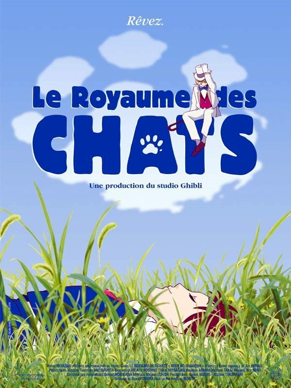 «Le Royaume des chats», mon premier film d'animation japonaise