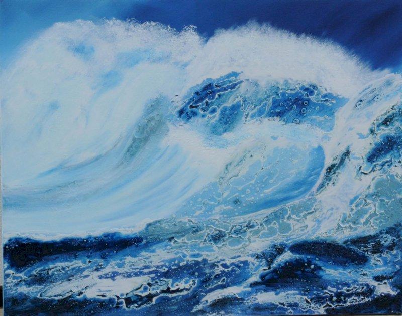 « Entre mer et nature » peintures d'Annie Narme