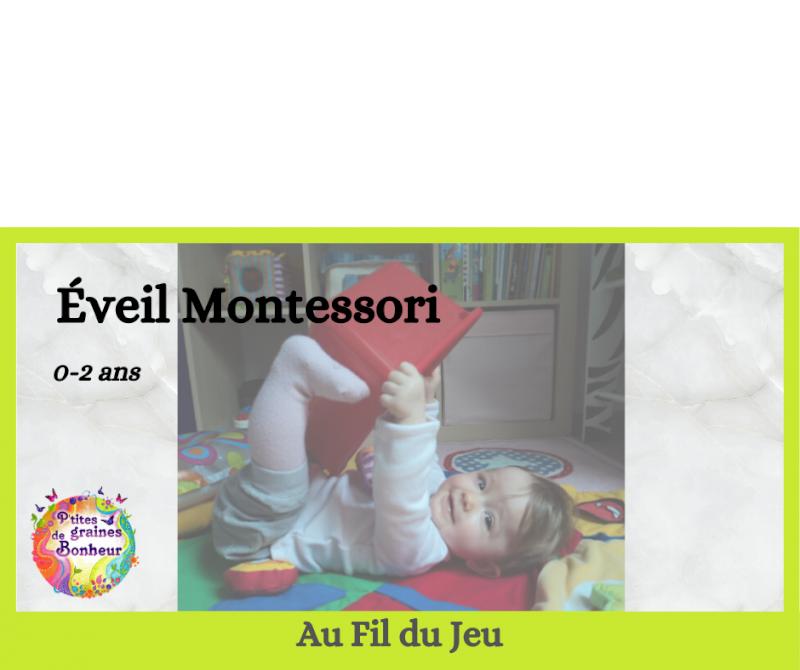 Éveil Montessori adulte-bébé