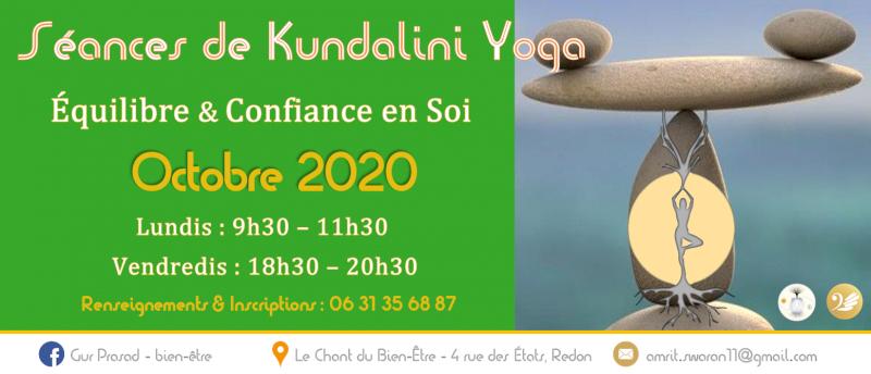 Séance de Kundalini yoga : équilibre et confiance en soi
