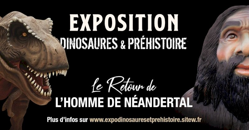 Expo Dinosaures et Préhistoire