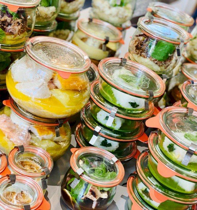 Les bocaux et plats à emporter de Marius de Mercredi à Dimanche
