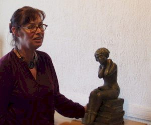 Sculptures et aquarelles