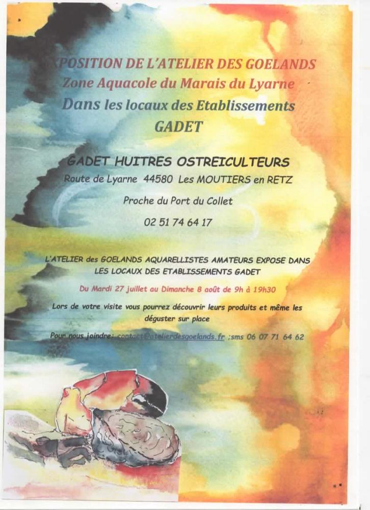 EXPOSITION DE L'ATELIER DES GOELANDS