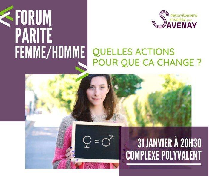 Forum parité femme/homme