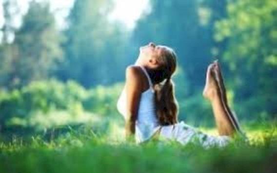 Yoga détente plein air