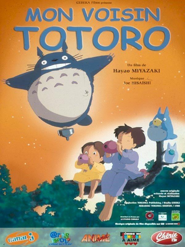 « Mon voisin Totoro », mon premier film d'animation japonaise