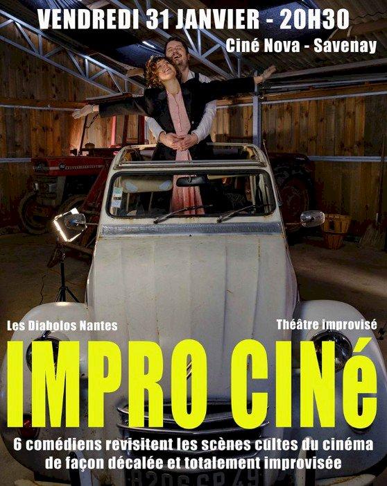 Spectacle Impro-ciné