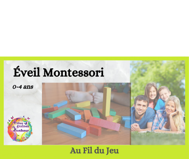 Éveil Montessori adulte-enfant