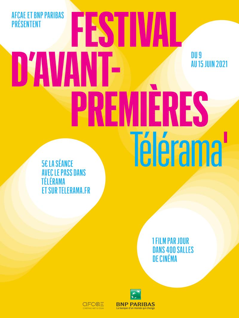 Festival avant-premières Télérama à Cinéjade