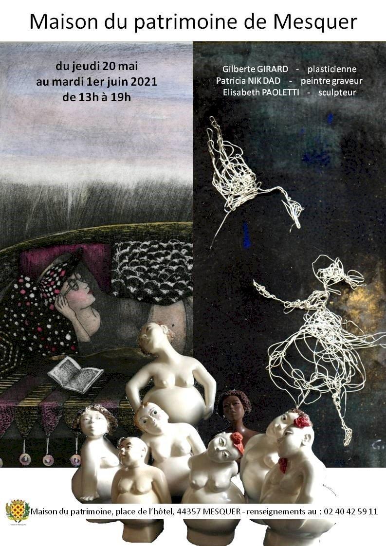 Exposition de G. Girard, P. Nik-Dad et E. Paoletti