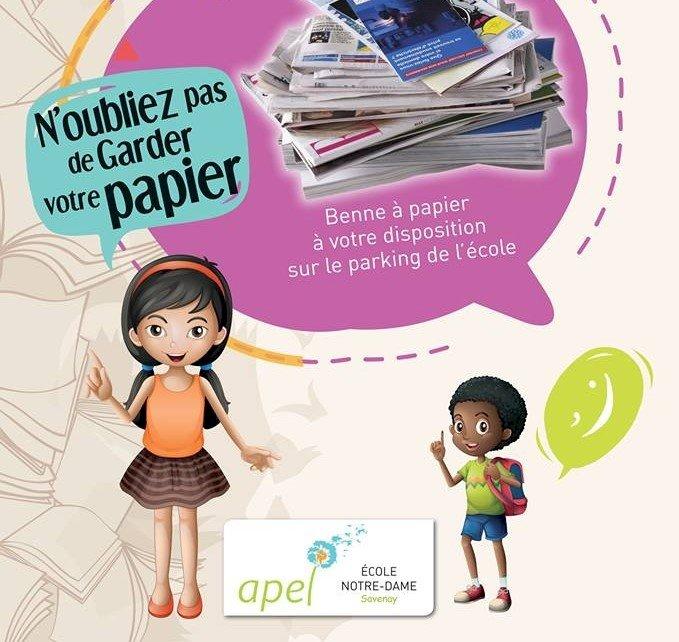 Collecte de papier