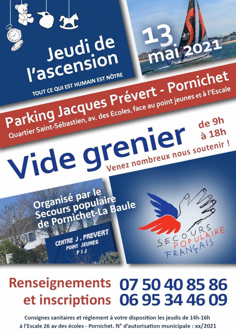 Vide-greniers du Secours populaire de Pornichet - La Baule
