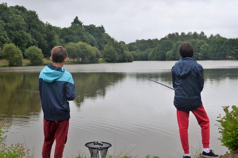 Initiation pêche en étang