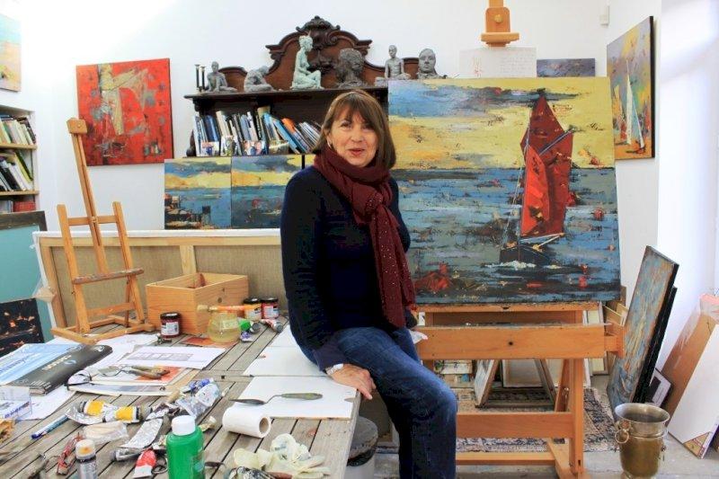 Souffle de Jade, exposition de Georgeta Cordier, Claude Lingrand et Danielle Raoux