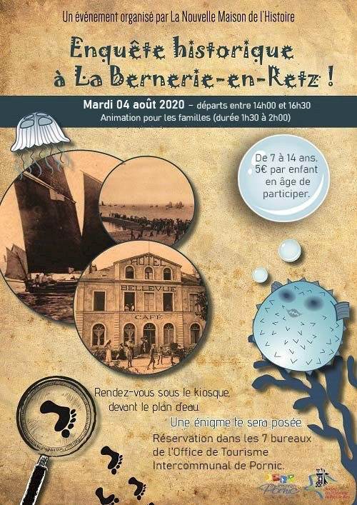 Enquête historique à La Bernerie-en-Retz