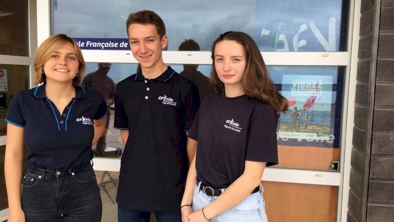 La Bernerie-en-Retz. L'école de voile forme ses futurs moniteurs