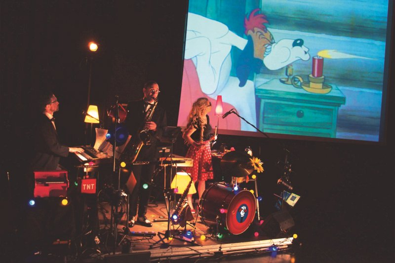 Ciné-concert « Cartoon Frénésie Trio »