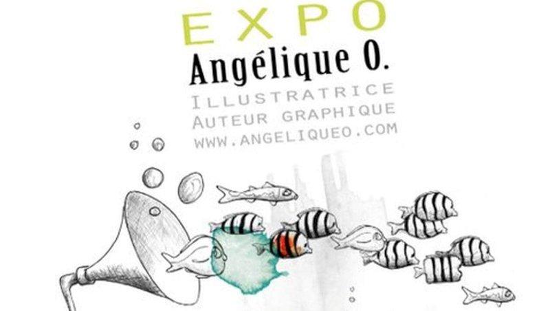 Pornic. Angélique'O s'expose | Presse Océan