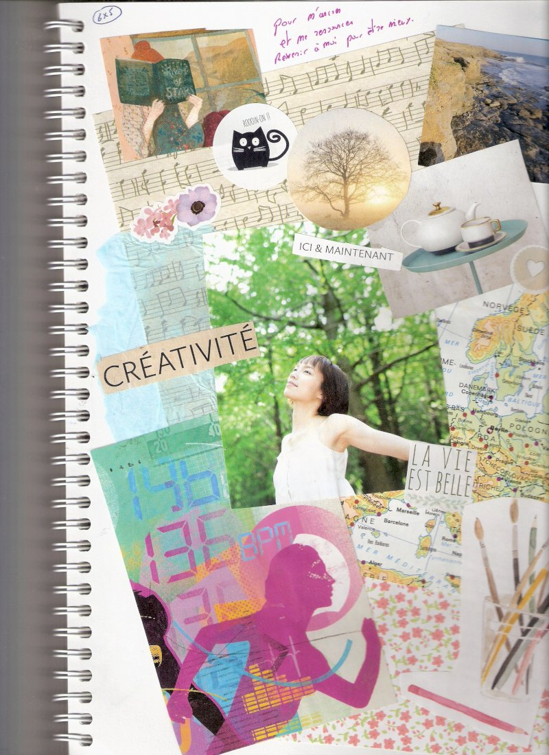 Au fil de la trace : atelier journal créatif avec P'tites graines de bonheur