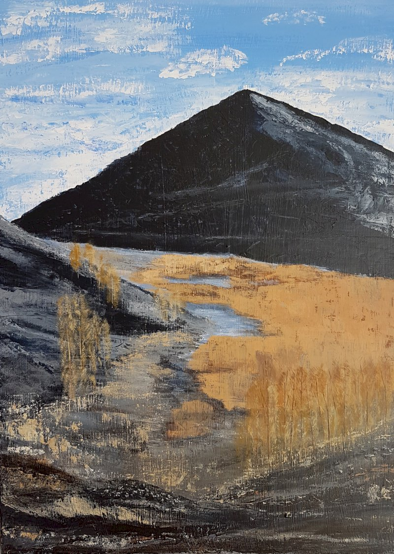 Au fil de l'eau, peintures de Catherine Huguet