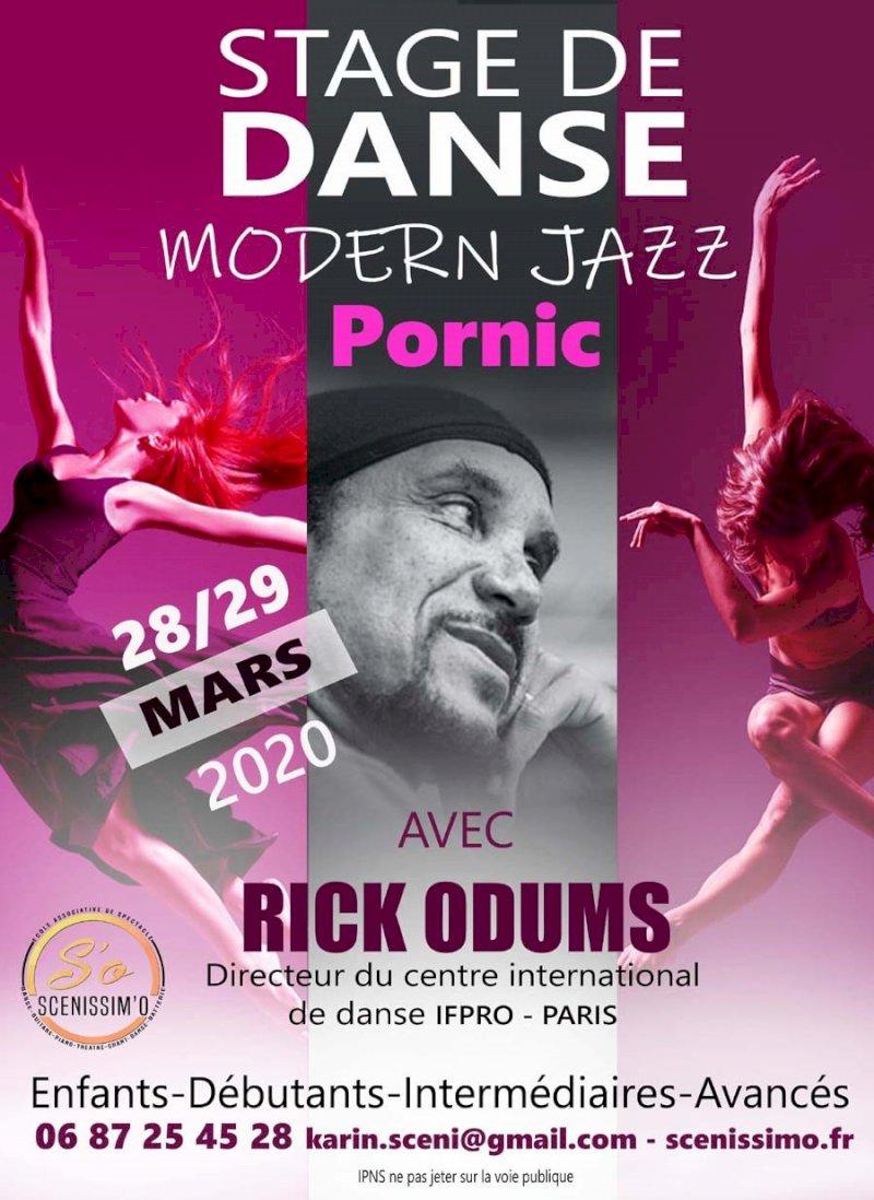 Stage de danse modern jazz