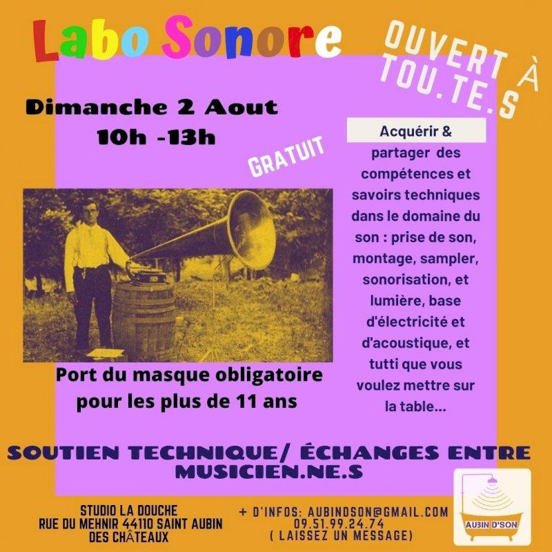 Aubin D'Son : Labo Sonore n°2