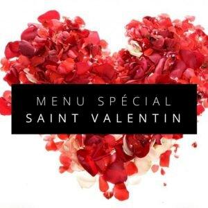 Le Menu de Saint Valentin du restaurant Le Retz
