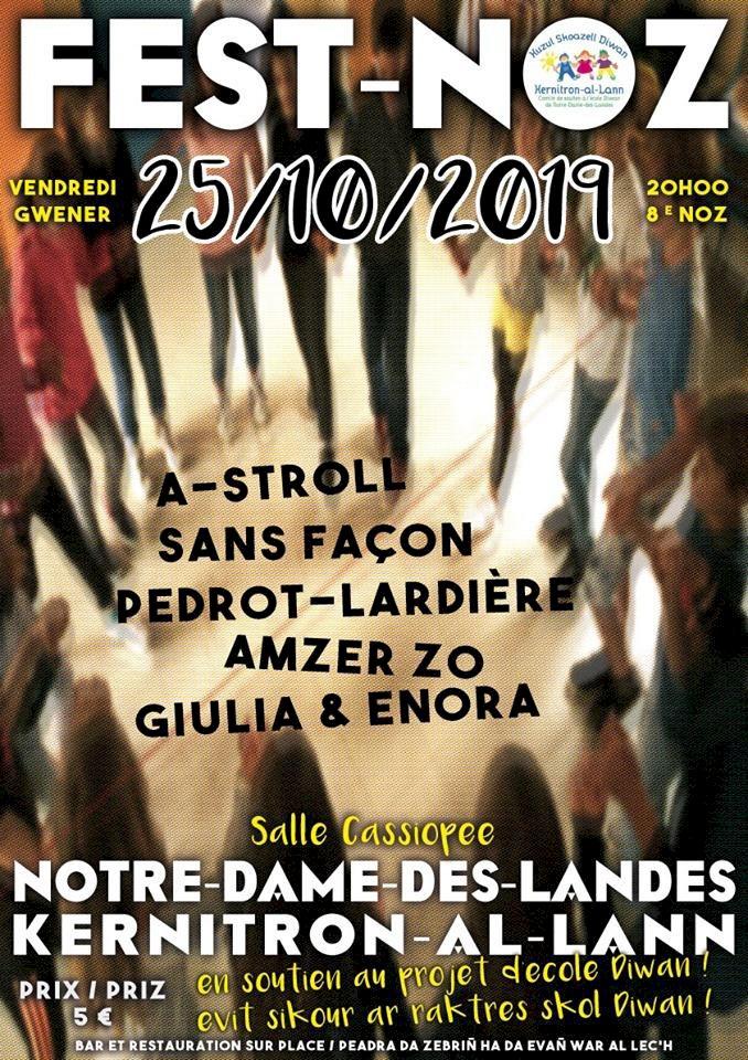 Fest-Noz de soutien à la création d'une école Diwan (#PartenaireBreizh5sur5), Notre-Dame-Des-Landes