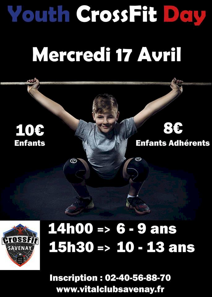 CROSSFIT SAVENAY - Youth CrossFit Day