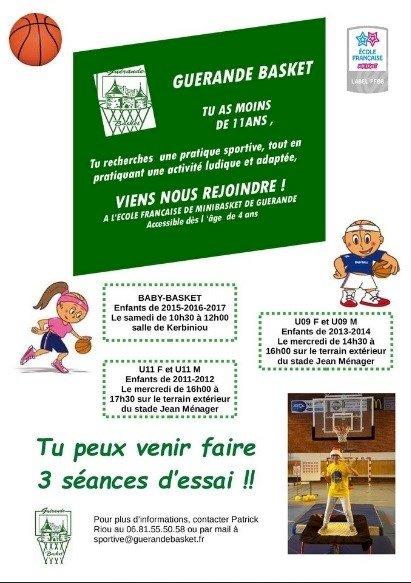 Portes ouvertes à Guérande basket