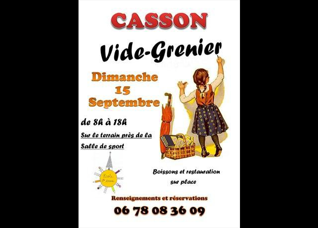 Vide-grenier - Ecole Sainte-Anne