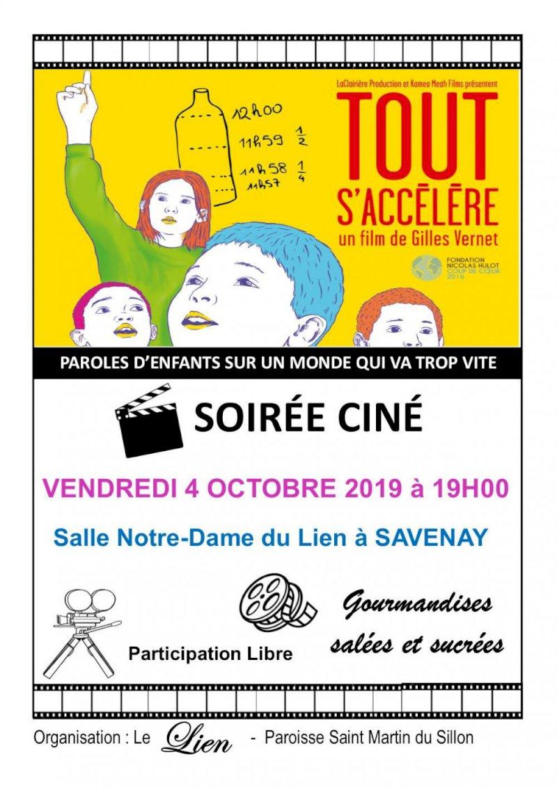 """Projection du film """"Tout s'accélère"""" de Gilles VERNET"""