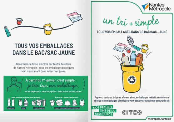Tri des déchets : nouvelle étape en 2021