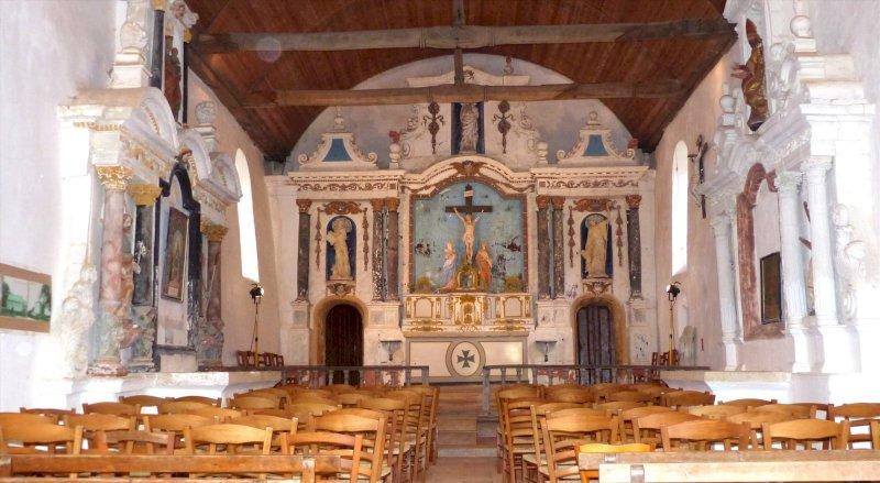Visite de la chapelle Saint-Jean-le-Baptiste-de-Prigny
