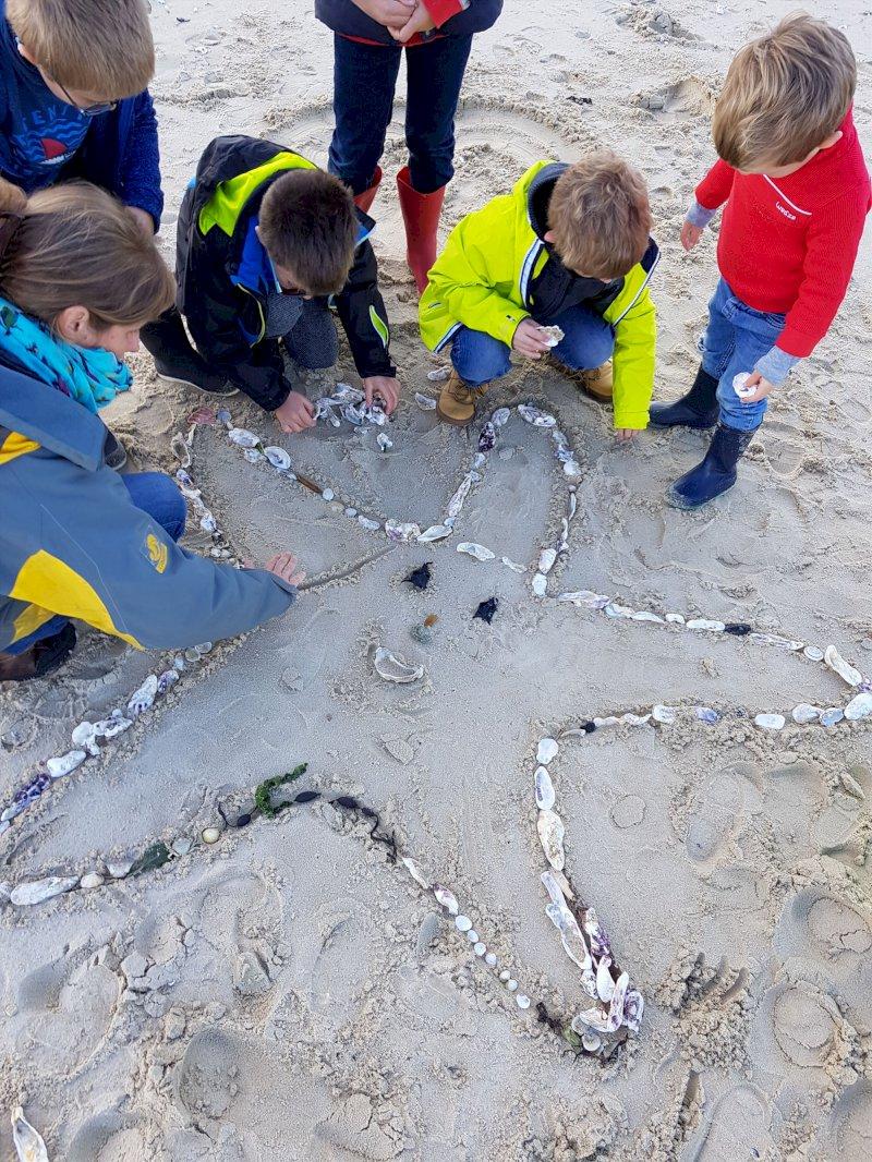 Sortie nature en famille « Chasse aux trésors sur la plage »