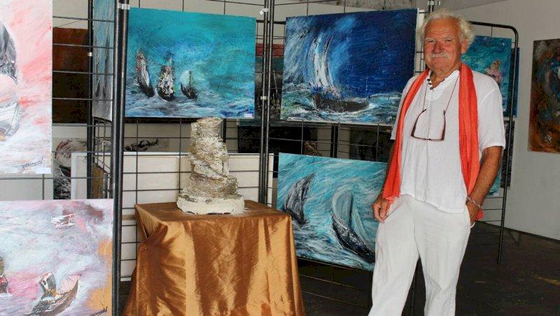 Pornic. Peintures et sculptures à voir à l'expo Passerelles d'océan