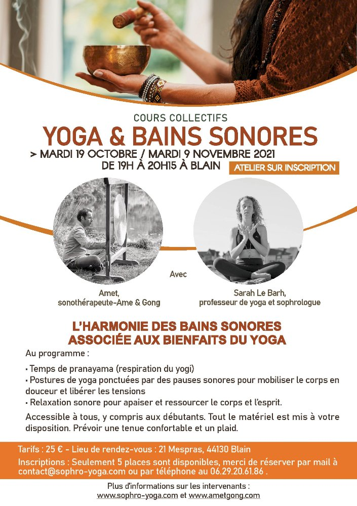 YOGA & Bains Sonores