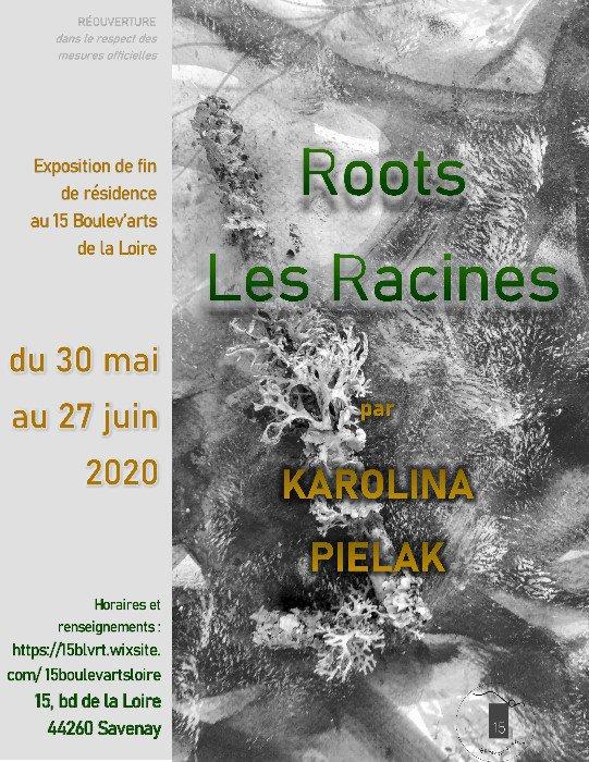 """Visite guidée avec Karolina Pielak - """"Roots/Les Racines"""" au 15 Boulev'arts de la Loire à Savenay"""