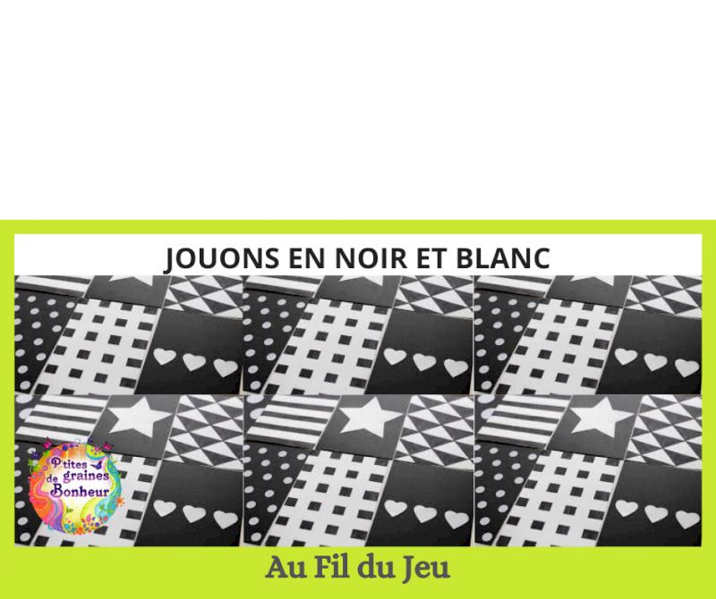 Atelier adulte-enfant « Jouons en noir et blanc »