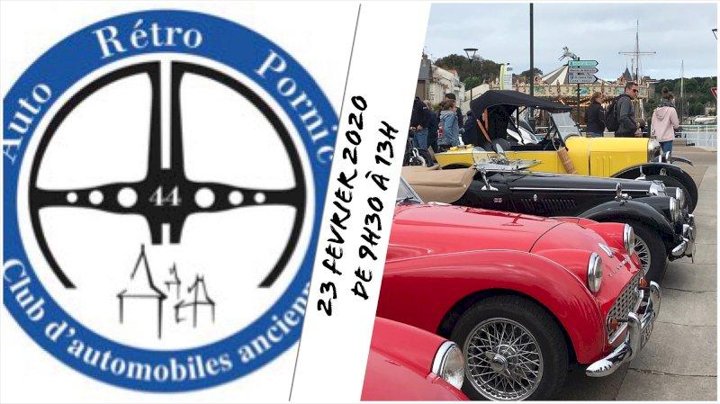 Rassemblement mensuel de véhicules anciens et de prestige