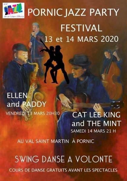 Pornic Jazz Party festival les 13 & 14 mars 2020