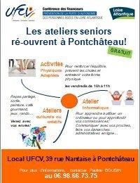 Les ateliers séniors rouvrent à Pontchâteau, les jeudis et vendredis après-midi.